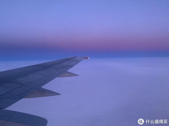 渐变的云层
