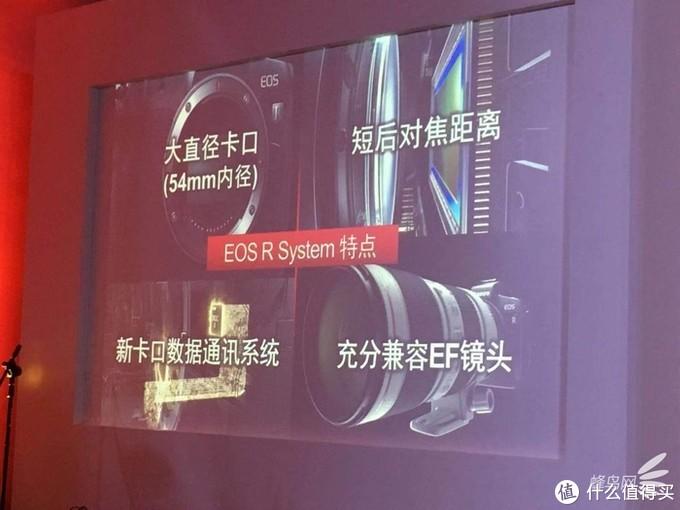 EOS R系统特点介绍