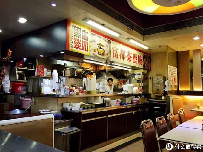 我见过的香港茶餐厅里,富都算是面积最大的。