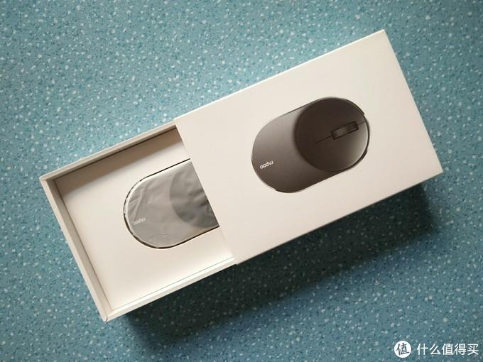 精灵小巧高颜值——雷柏M600 mini多模无线鼠标试用报告