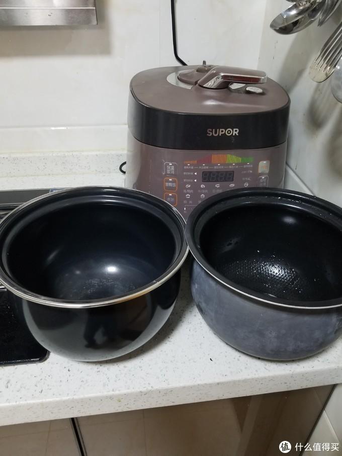 """米饭锅外部已被洗碗机""""洗白"""""""