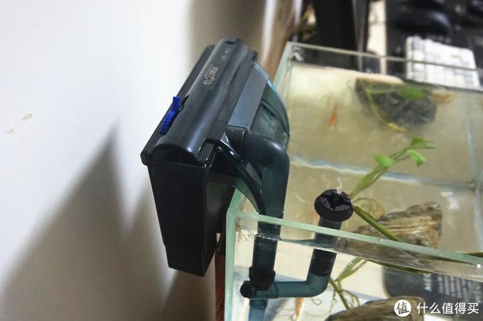 为小鱼们按一个舒适的家—森森佳璐挂壁式水循环过滤泵开箱使用