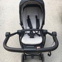 VIKI S4000婴儿车使用体验(颜值 材料 品质 重量)