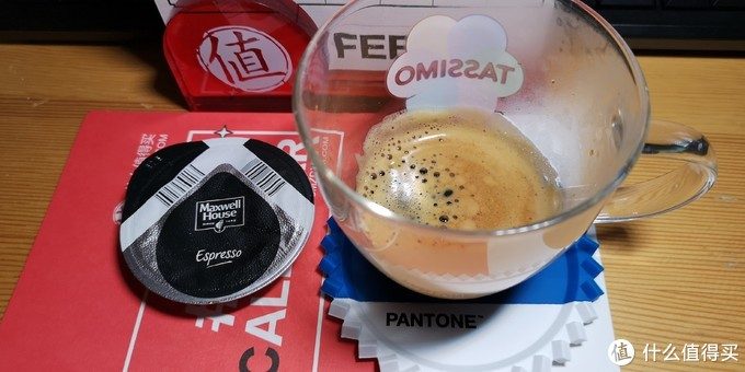 塔西莫萃取麦斯威尔的意式浓缩咖啡