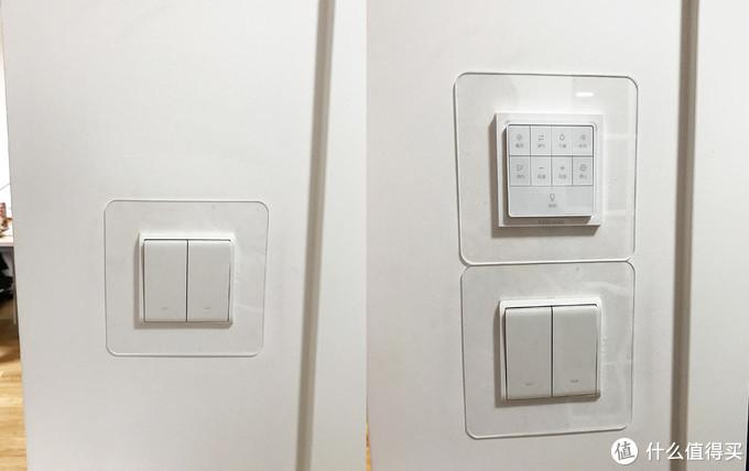 把遥控安装好,左侧为之前没有遥控效果,右侧是安装遥控后的效果