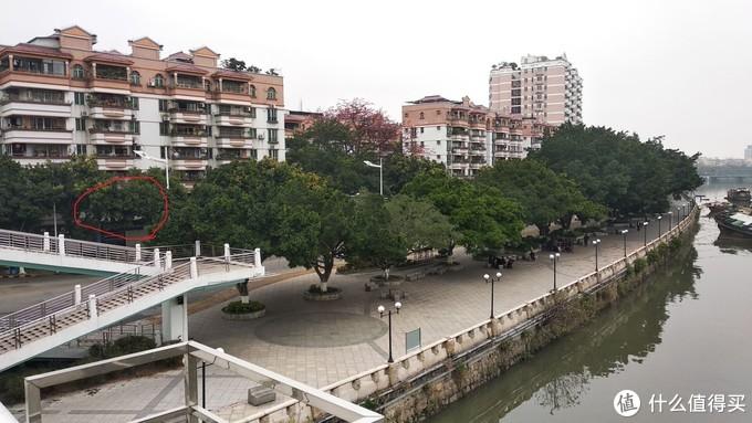 红圈位置就是曾经的收藏,买的时候一线江景,现在十几年过了,芒果树长大了,江景也给挡住了。