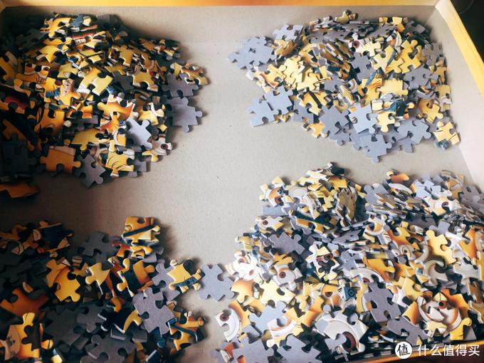 拼图 — 拼凑的不仅是图案,更是细碎的时光