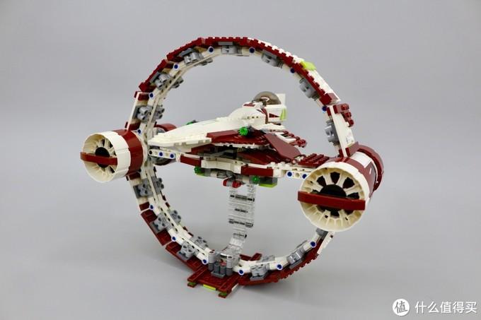 聚能环+人间大炮:乐高星战之卡米诺追击(LEGO75191)