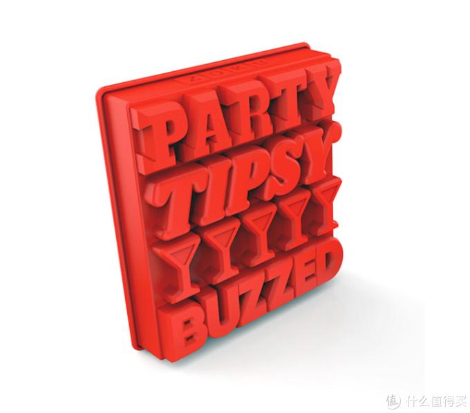 Zoku推出Party系列冰块硅胶模具,可拼出聚会主题