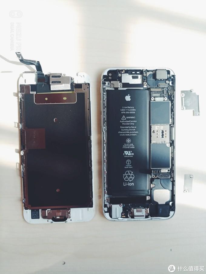 iPhone 6S 拆机更换电池(含电池选购攻略)