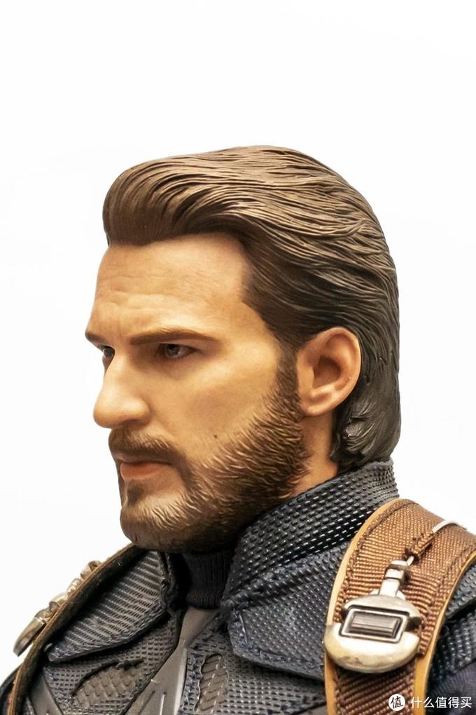 长了胡子还是队长:Hottoys MMS480 复仇者联盟3 美国队长