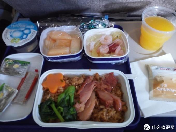 ▲上海东航飞机餐