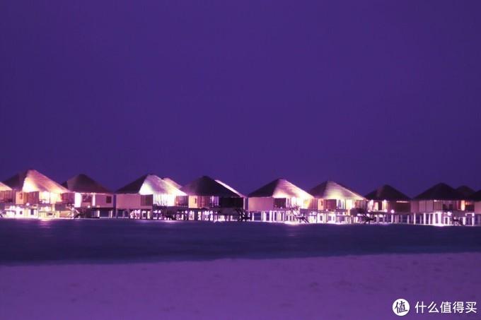 ▲瓦度岛梦幻的紫色夜