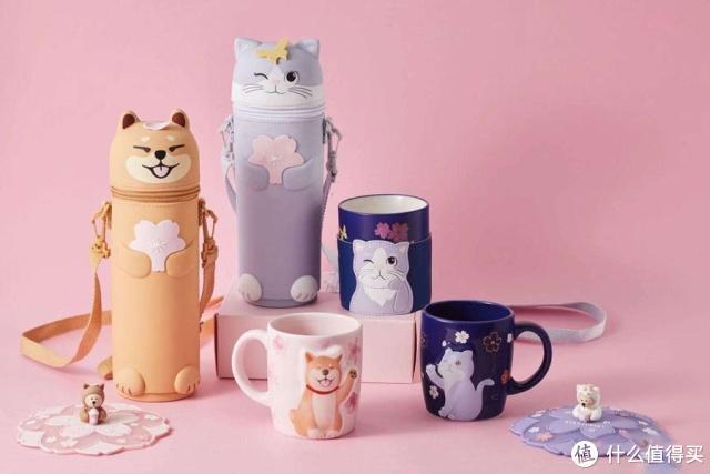 """2019星巴克""""樱花季""""系列新品大盘点,居然还有宠物用品!"""
