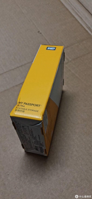 西部数据My Passport Ultra 1TB移动硬盘开箱简评