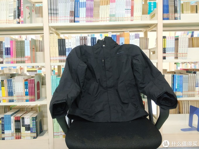 图书馆猿の迪卡侬 (Decathlon) RAINWARM 100 三合一夹克 (冲锋衣)