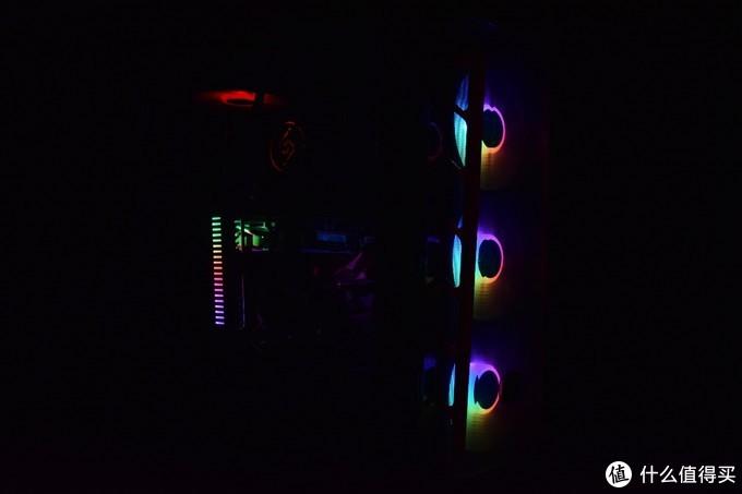 可神光同步的显卡千斤顶,九州风神GH-01 ARGB幻彩版显卡支架体验点评