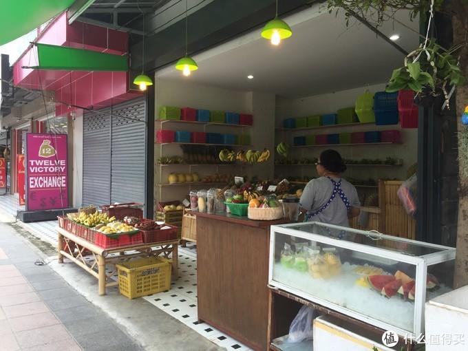 沿街的水果摊,绝对方便