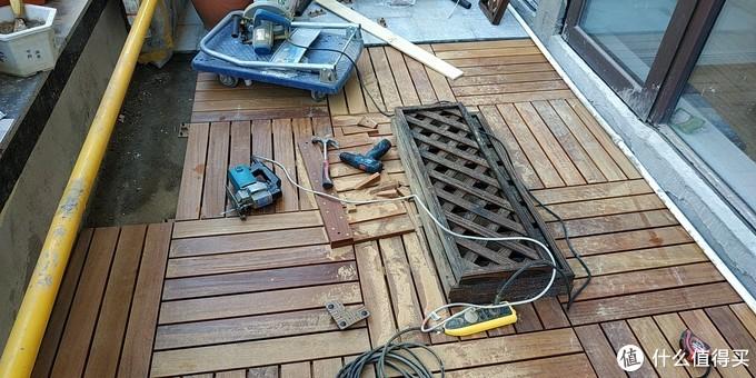 电锯可不仅仅只是惊魂,用东成7寸电圆锯装修自己的小阳台