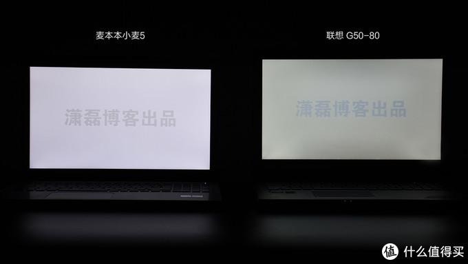 屏幕显示亮度对比