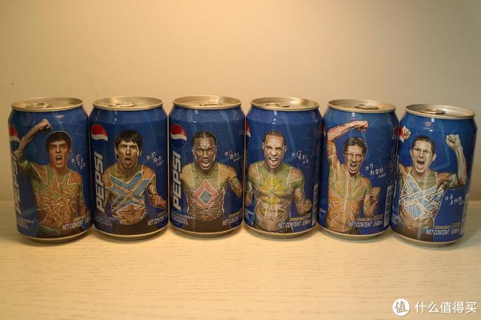 2010世界杯球星罐