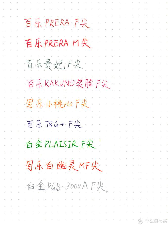 御三家日本平价透明示范钢笔评测