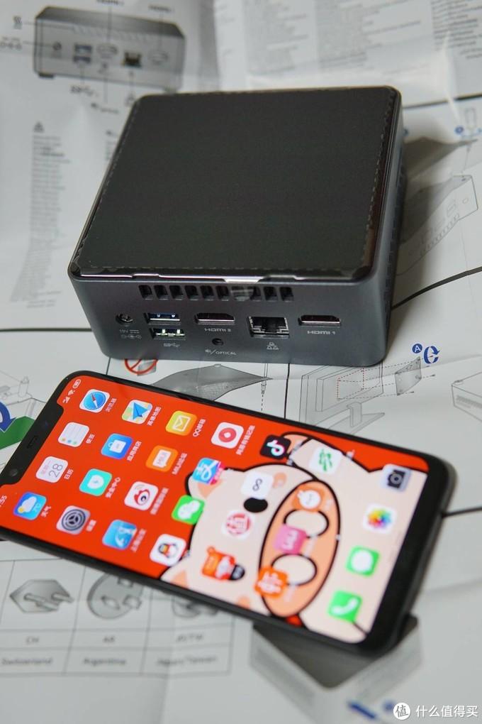 整机还是非常小巧的,主要是电源外置了。电源和老式笔记本那种差不多。