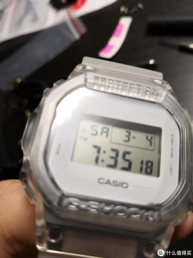 改装篇1:或许这是世界上最短命的DW5600E