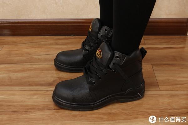 """只要添柏岚1/10价格的国产""""踢不烂""""?壮康安全鞋晒单"""