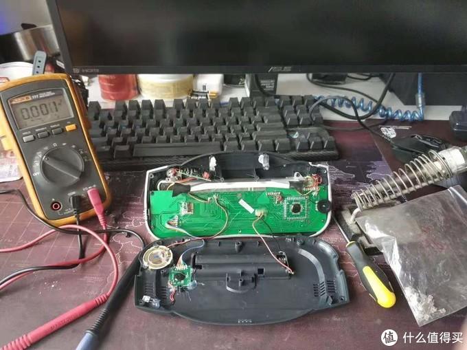 百元以内亲手打造自己的桌面电波钟(半成品)