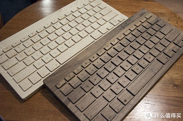 每日一品:Orée 手工桃木 无线键盘
