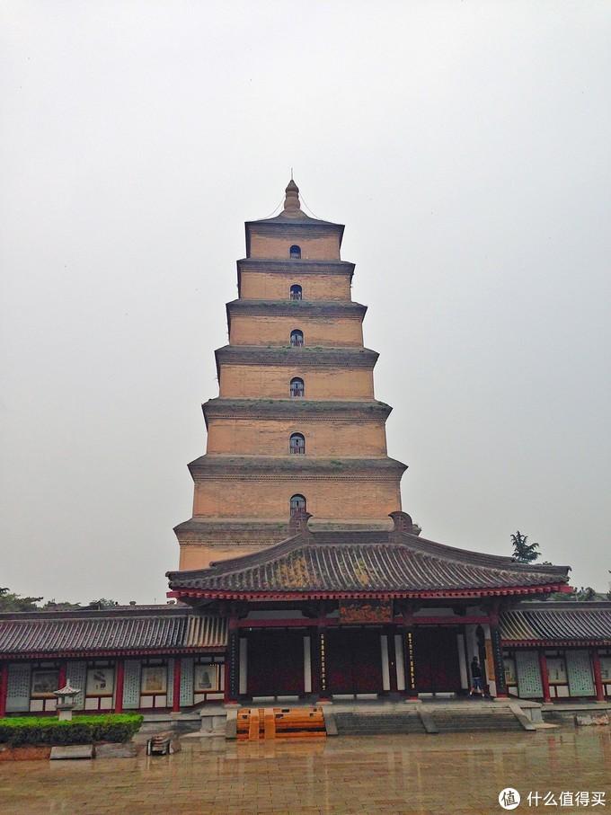 大雁塔是现存最早、规模最大的唐代四方楼阁式砖塔