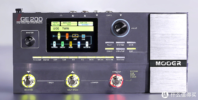 Mooer 的 GE200综合效果器