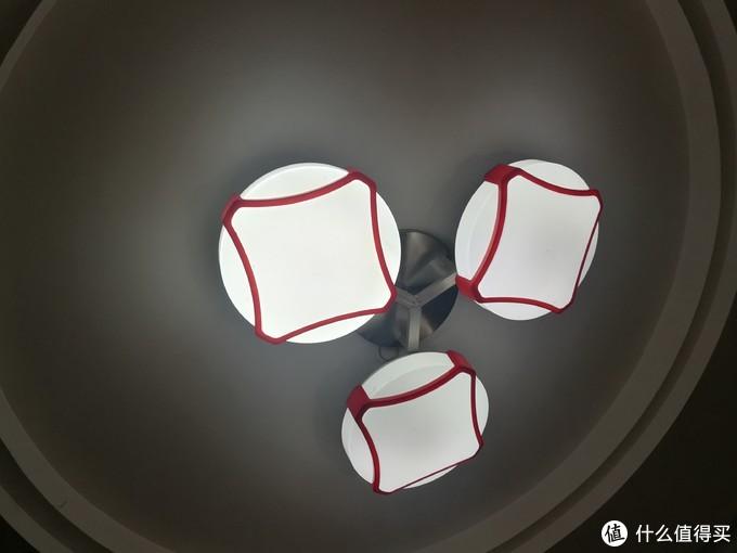 新旧光源加原灯罩对比