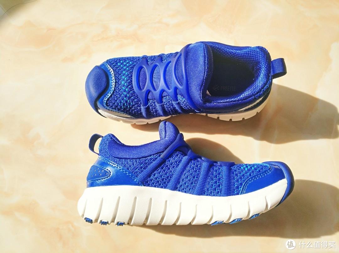 【FREETIE儿童运动鞋】给淘气宝宝更贴心的防护
