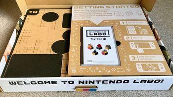任天堂 Switch Nintendo Labo Variety Kit 五合一套件使用总结(卡带|屏幕|遥控器|摄像头)