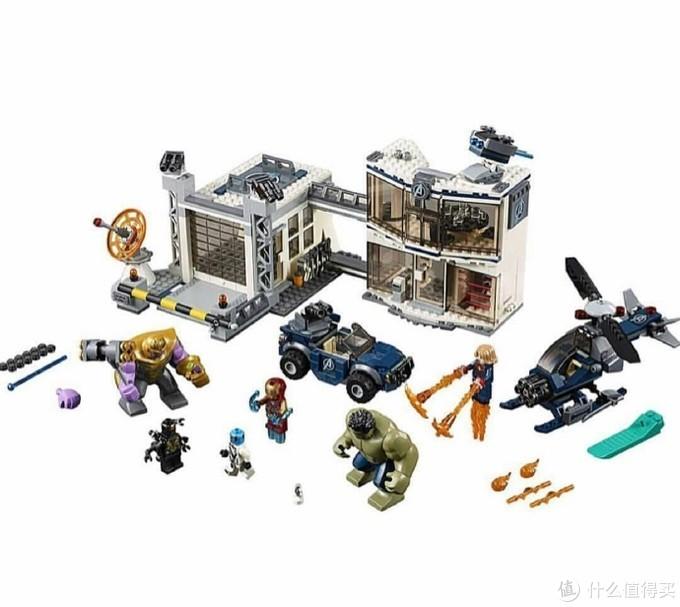 乐高正式发布《复仇者联盟4》终局之战玩具套装!