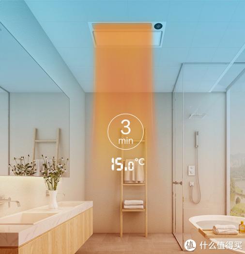 可接入米家智能家居的浴霸----Yeelight智能浴霸体验