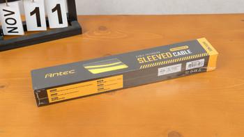 安钛克 PSUSC30-203 编织网 电源延长线外观展示(开孔|编织网)