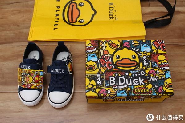 包装比鞋更好看,小黄鸭帆布童鞋晒单