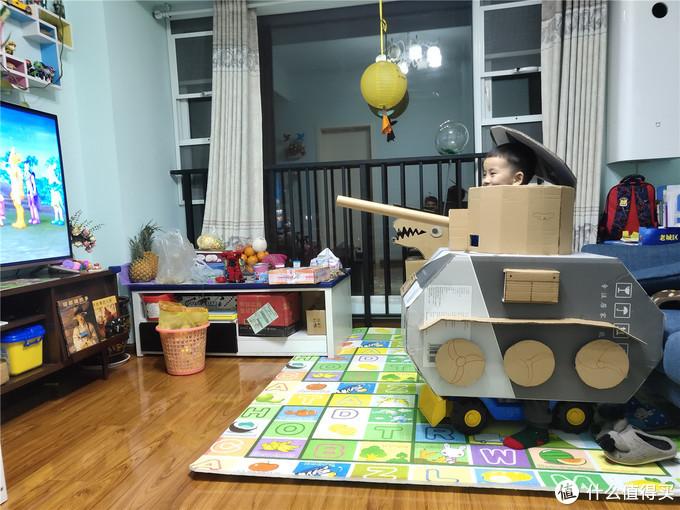 简易手工课,助孩子做个坦克手的梦