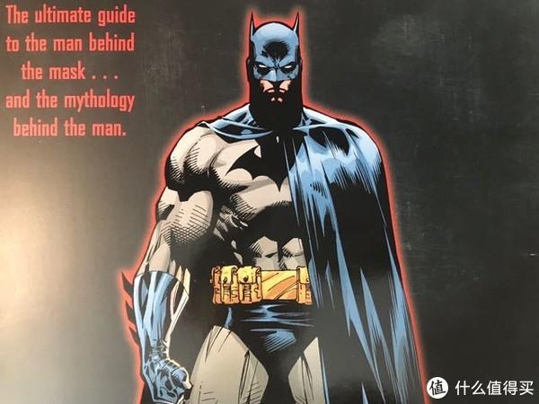 DC蝙蝠侠百科全书(黑白+彩页)