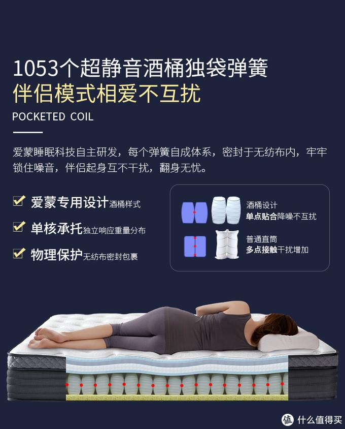 30cm厚,5cm乳胶+独袋弹簧,1999元怎么样?—— 芝华仕Sleep Max独袋弹簧乳胶床垫D022抢先体验