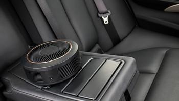 70迈Pro车载空气净化器外形设计(进风口 开关 仓盖 滤芯)