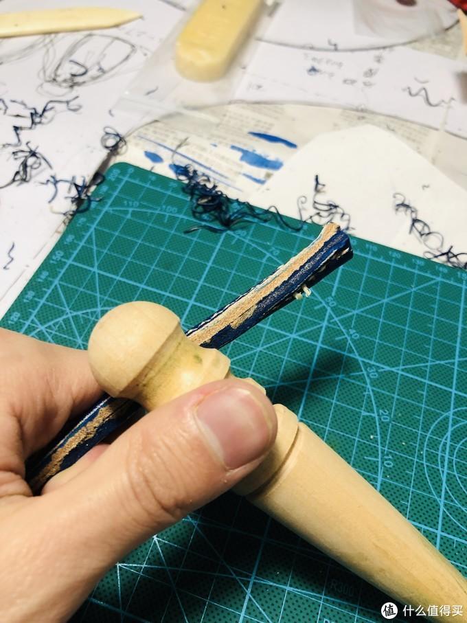 """匠心磨练——记一次 """"粗糙""""原创手工皮具制作"""