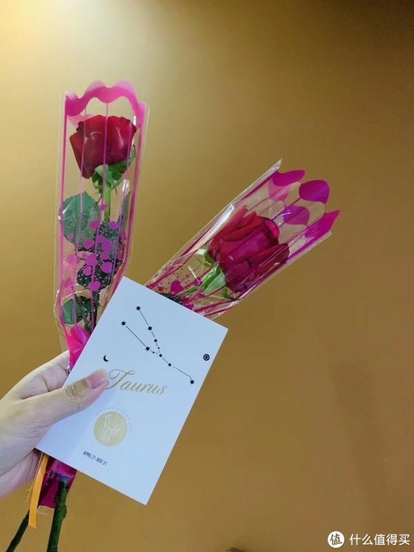 妇女节物业上门送的花花,开心耶~