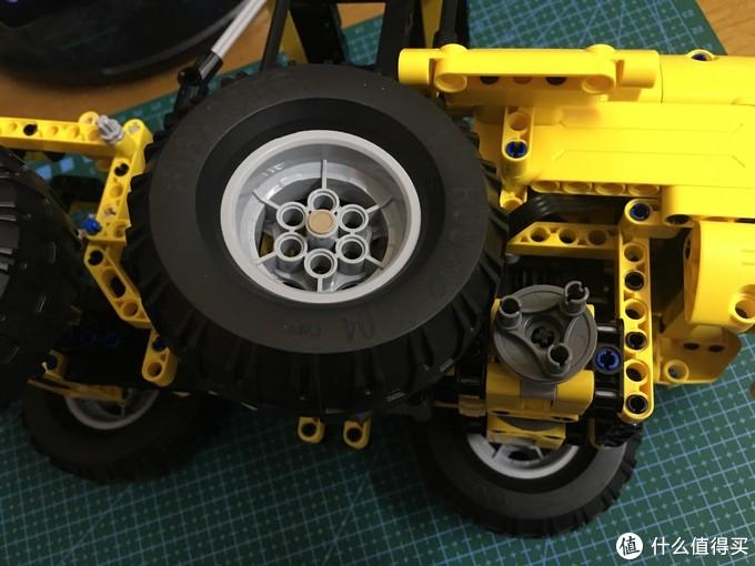车轮限位细节展示