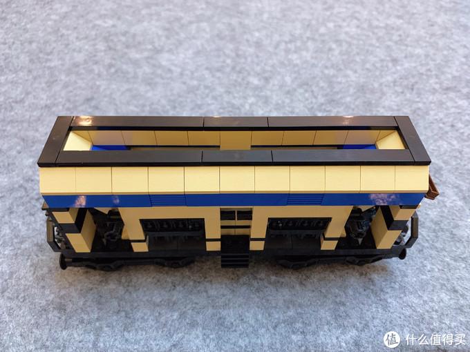LEGO 10013 敞篷货车车厢和10017 底卸式车厢