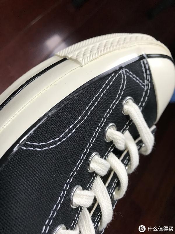 百搭经典!Converse 1970 黑色低帮三星标帆布鞋