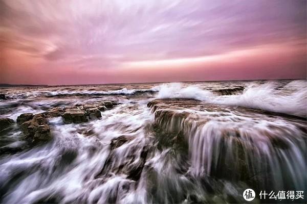 刚开始学习慢门拍摄的海景渣片